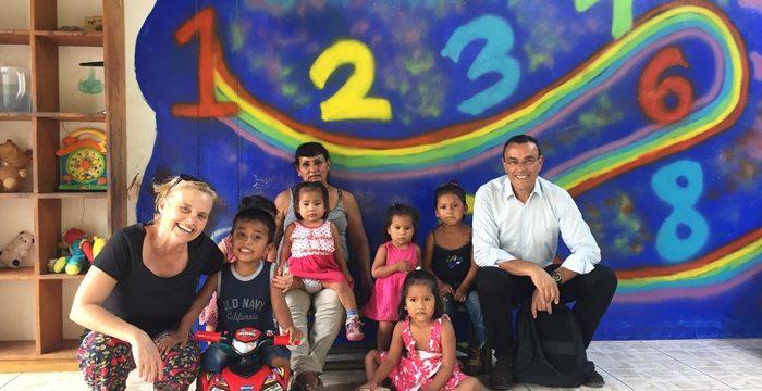 Diputación y la Mancomunidad del Condado contribuyen a la mejora de vida de 180 menores tutelados en Perú