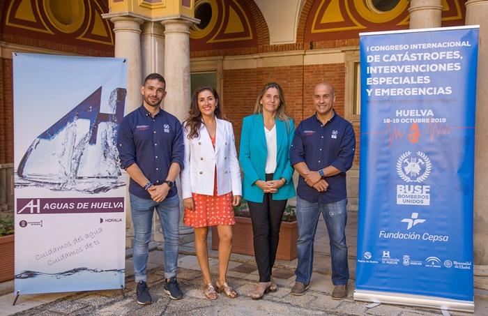 Aguas de Huelva se suma a los eventos solidarios de Bomberos Unidos sin Fronteras