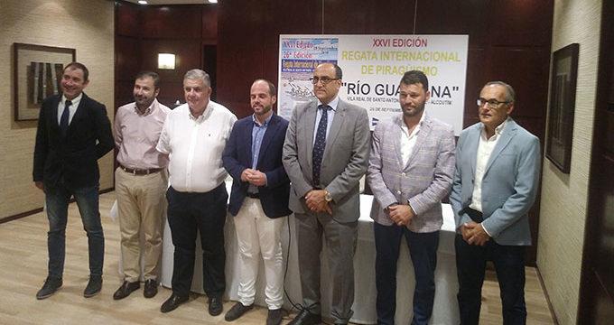 Todo a punto para la disputa de la XXVI Regata Internacional de Piragüismo 'Río Guadiana'