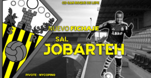 Sal Jobarteh, la vigésima incorporación del San Roque de Lepe para la temporada 2019-20. / Foto: @SanRoqueLepe.