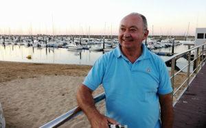 Jorge Díaz Rivas, después de ocho año, deja la presidencia del Real Club Marítimo y Tenis de Punta Umbría.