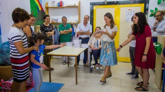 La Caja Mágica de MATSA facilita la vuelta al cole con la donación de material educativo