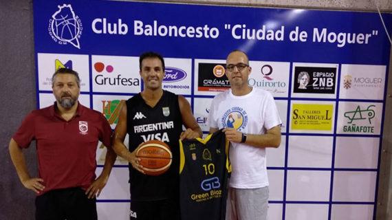 El Green Biozone Moguer de baloncesto da un salto de calidad con el fichaje del alero Julián Horacio López