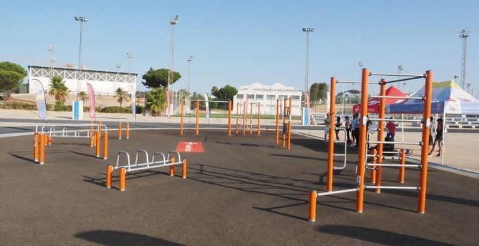 Comienza el curso de iniciación a la calistenia en el Polideportivo Municipal de Palos de la Frontera