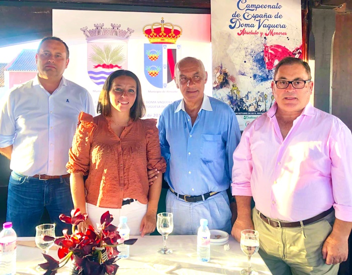 Golega acoge la presentación del Campeonato de España de Doma Vaquera que se celebra en Almonte