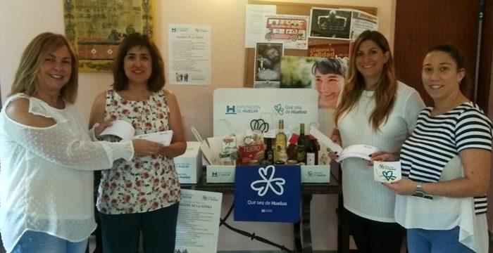 La campaña 'Que sea de Huelva' llega a la Sierra para impulsar el consumo de productos y servicios locales