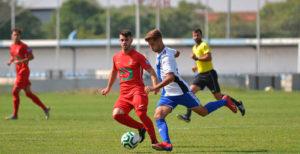 El filial del Recre, después de siete jornadas sin hacerlo, pudo ganar un partido.