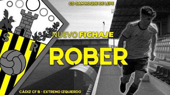 El San Roque de Lepe anuncia la incorporación al equipo del extremo izquierdo Rober