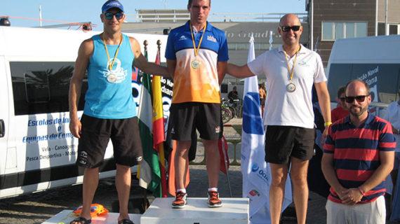 Rubén Gutiérrez, subcampeón Máster en la XXXII Travesía Internacional de Natación 'Río Guadiana'