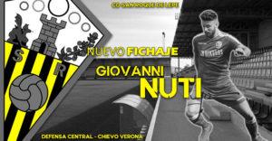 Giovanni Nuti, nuevo jugador del San Roque de Lepe para la temporada 2019-20. / Foto: @SanRoqueLepe.