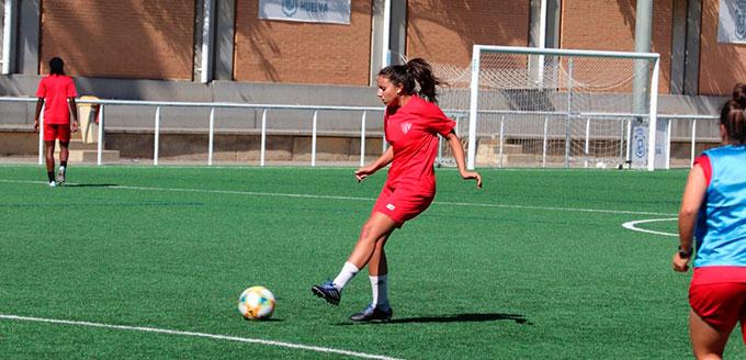 El Sporting de Huelva regresó el martes a los entrenamientos. / Foto: @sportinghuelva.