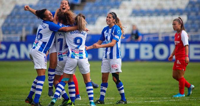 El Sporting Huelva regresa al Nuevo Colombino con la única idea de ganar al Deportivo de La Coruña