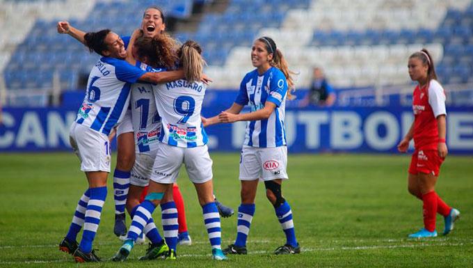 Un Sporting de Huelva sin complejos recibe este domingo en la Ciudad Deportiva del Decano (11:30) al Barcelona
