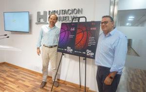 Un momento de la presentación del X Trofeo Diputación de Baloncesto.