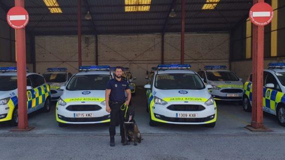 La Unidad Canina de la Policia Local de Aljaraque participa en un nuevo curso de guías caninos