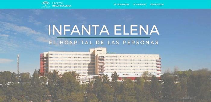 El Hospital Infanta Elena lanza nueva web y redes sociales para facilitar la comunicación con los usuarios