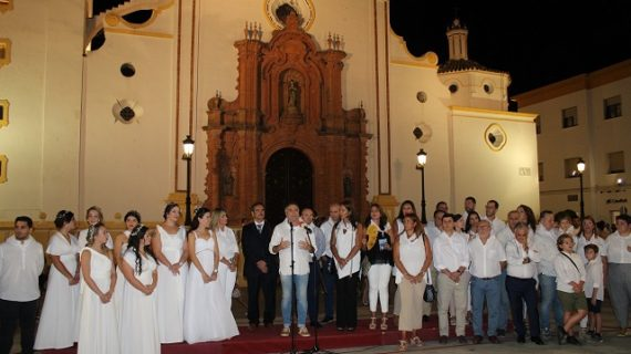 Una noche impregnada de Cultura y  Vino en La Palma del Condado
