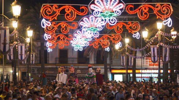 Ayamonte disfruta ya de sus fiestas patronales en honor a la Virgen de Las Angustias