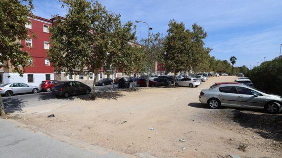 El espacio libre de la calle Santísimo Cristo del Amor se convertirá en una zona ajardinada