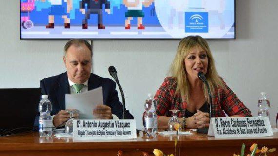 San Juan del Puerto, sede de una jornada informativa sobre nuevos incentivos a autónomos