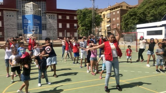 Punto final al Campamento de Aguas de Huelva del que se han beneficiado más de 30 niños