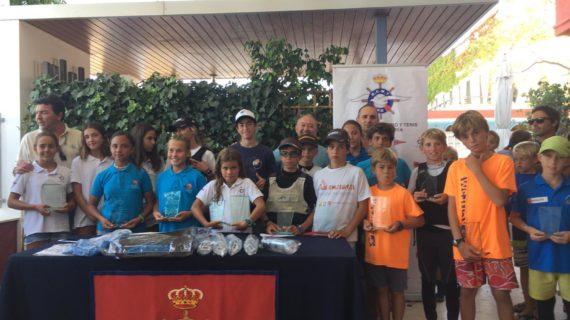 El Real Club Marítimo y Tenis de Punta Umbría se lució en el XII Trofeo Concesionario de vela