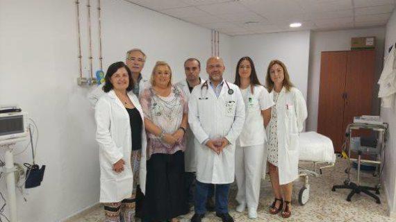 Comienzan las consultas de la Unidad del Dolor en el Hospital de Riotinto