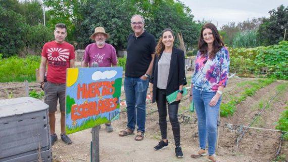 Nueva colaboración de Aguas de Huelva con el Aula de la Naturaleza del Parque Moret