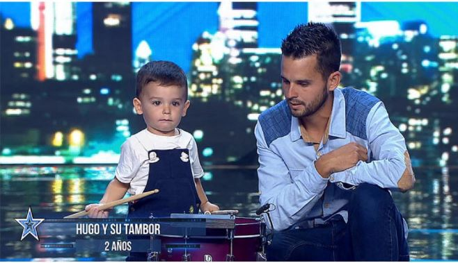 El pequeño Hugo, natural de Palos, se mete en el bolsillo a todos los espectadores en el inicio de 'Got Talent'