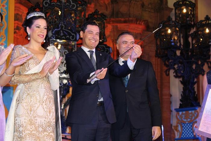 Juan Manuel Moreno Bonilla, Capataz de Honor de la Fiesta de la Vendimia del Condado