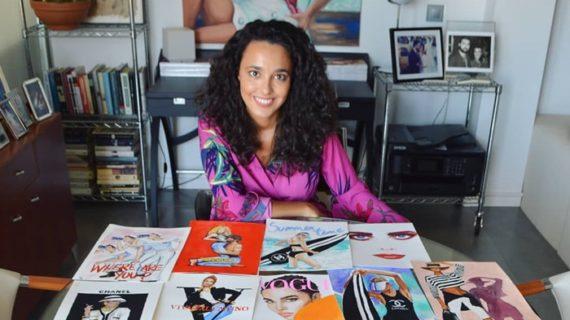 La onubense Laura Gómez Muriel plasma en sus ilustraciones su pasión por la moda