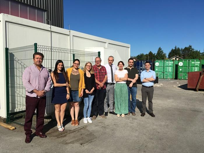 El proyecto Hy2Green realiza en Huelva la actividad de aprendizaje de su programa de formación