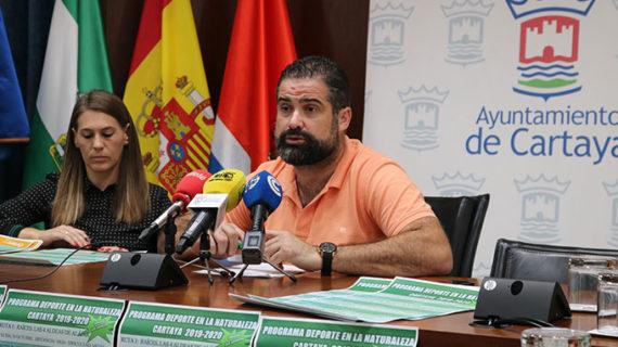 Siete rutas por las provincias de Huelva y Sevilla componen el programa 'Deporte en la Naturaleza' del Ayuntamiento de Cartaya