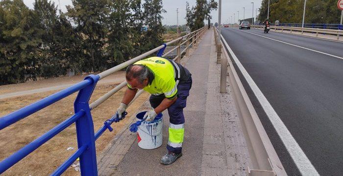 Ejecutadas en la capital un total de 39 obras de mantenimiento durante el mes de septiembre