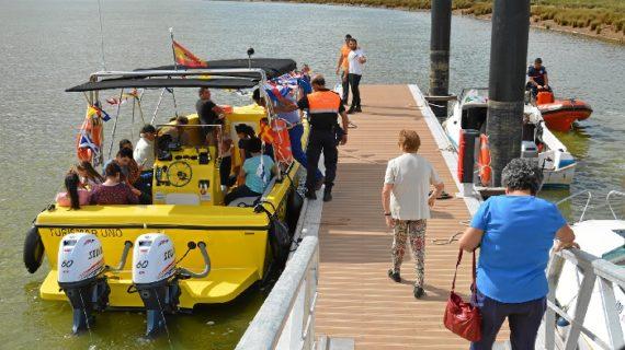 El Muelle de San Juan del Puerto, epicentro de las actividades del 12 de octubre