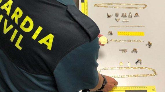 Desarticulada una organización criminal especializada en el robo de urbanizaciones y casas de campo de la provincia de Huelva