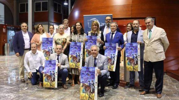 La presidenta de la APH presenta los premios de la IV Feria del Caballo de Huelva