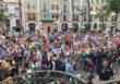 La Plafatorma por el AVE de Huelva se concentra en la Plaza de las Monjas