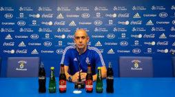 """Alberto Monteagudo tiene """"fe ciega en el equipo"""" y se muestra convencido de que """"los resultados van a llegar"""""""