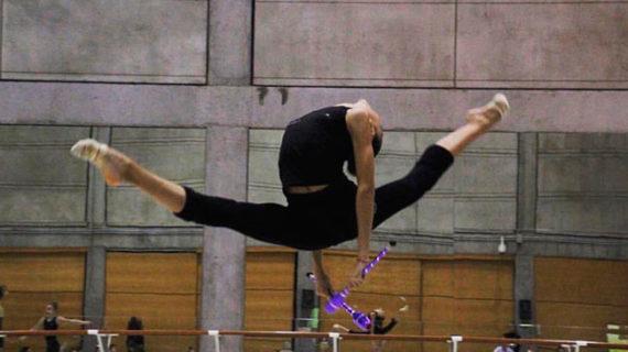 La gimnasta Ángela Martín acude a Madrid una nueva cita con la selección nacional