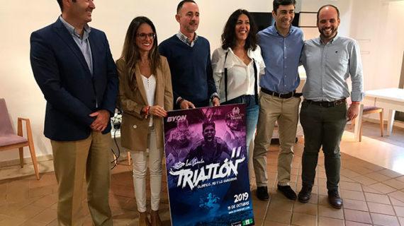 Unos 350 deportistas se esperan el 19 de octubre en el II Triatlón Isla Canela Guadiana en Ayamonte