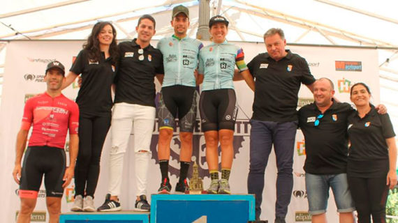 Victoria de Miguel Muñoz y Celina Santos en la XIX Ruta Ciclista BTT Gran Premio Villa de Paterna