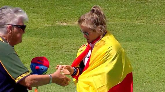 Blanca Betanzos conquista su cuarta medalla de oro en el Campeonato del Mundo de Atletismo INAS