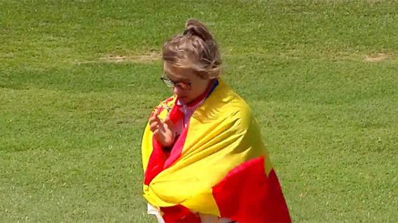 Blanca Betanzos desafía con éxito el cansancio y cierra con cinco oros el Mundial de Atletismo INAS