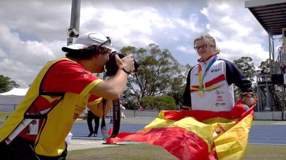 Blanca Betanzos también se cuelga el oro en el Campeonato del Mundo de Atletismo INAS