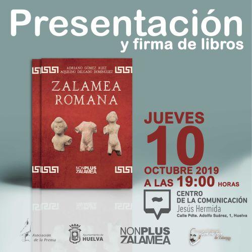 El libro 'Zalamea Romana' se presenta en el Centro de la Comunicación Jesús Hermida