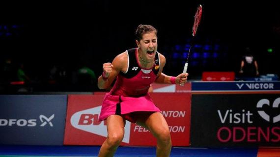 Carolina Marín se abona a los partidos con drama para acceder a la semifinal en Dinamarca tras ganar a An Se Young