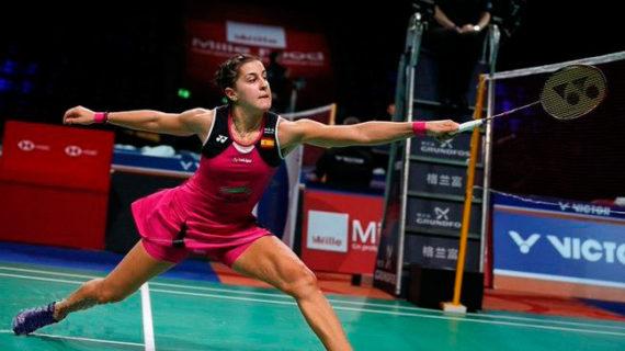 Carolina Marín arranca el Open de Dinamarca con un triunfo trabajado ante la tailandesa Pornpawee Chochuwong