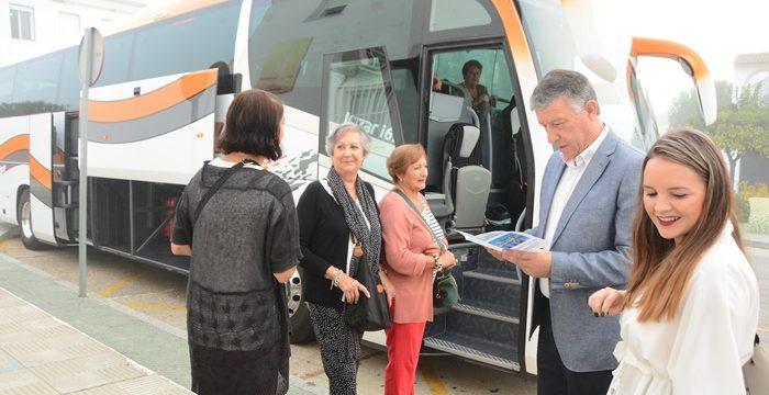Comienza una nueva edición del programa 'Viaje para la 3ª Edad' de Palos de la Frontera