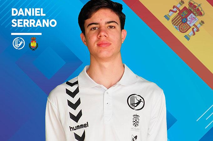 El moguereño Daniel Serrano, convocado por la selección española Juvenil de balonmano para el Torneo Scandibérico